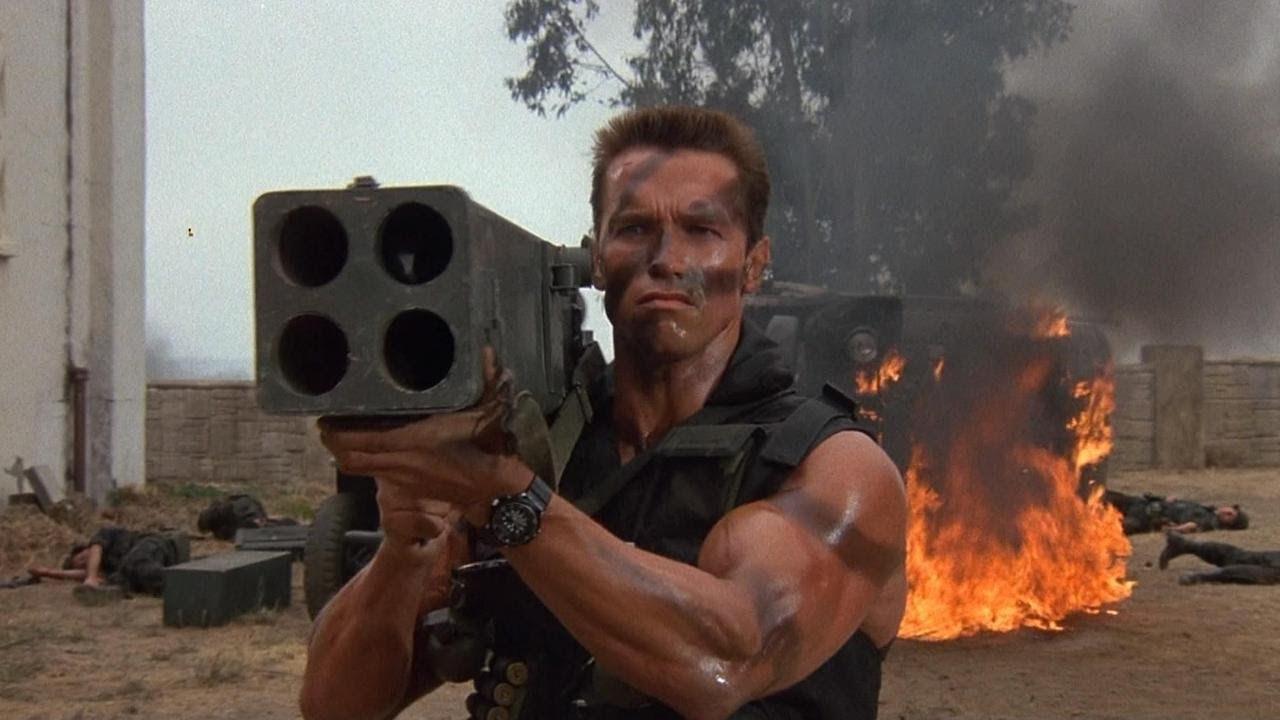 Retro Rewind : Commando (1985) – Silver Screen Show